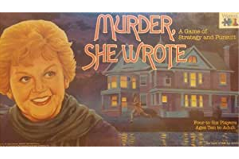Amazon.com: Murder She Wrote: A Board Game of Strategy and ...