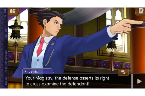 Phoenix Wright: Ace Attorney - Spirit of Justice Out Now ...