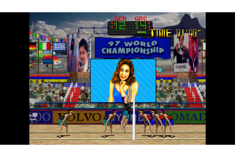 Beach Festival World Championship 1997 Arcade Gameplay ...