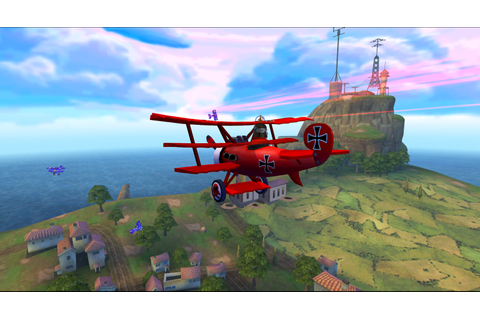Snoopy The Red Baron Game - Free Download PC Games and ...