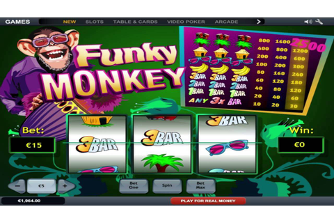 Funky Monkey ™ free slot machine game preview by ...