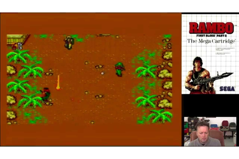 Retro Console Game (Rambo First Blood Part II - Sega ...
