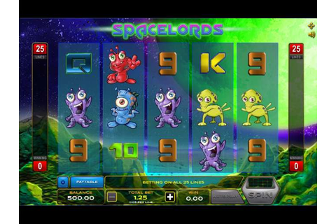 Space Lords Slot By Xplosive Slots » Review + Demo Game