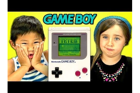 Kids React to Game Boy with Confusion, Gratitude - The ...