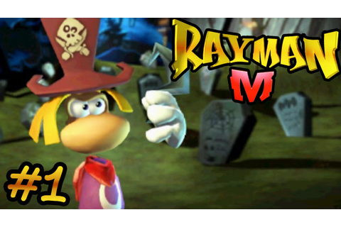 Rayman M Let's Play [Part 1] - Strawberry Man - YouTube