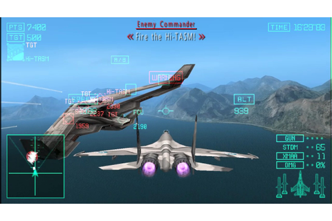 Ace Combat Joint Assault Easy Playthrough Mission 20 Ghost ...