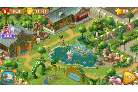 All Gardens completed😍. Full game tour. Playrix ...