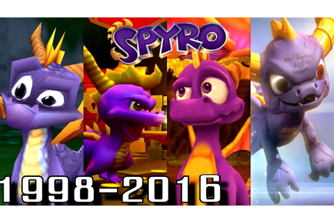 Spyro - ALL INTROS 1998-2016 (PS4-PS1, Wii U, Xbox, GC ...
