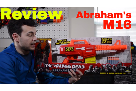 [Review] Air Warriors The Walking Dead Abraham's M16 - YouTube
