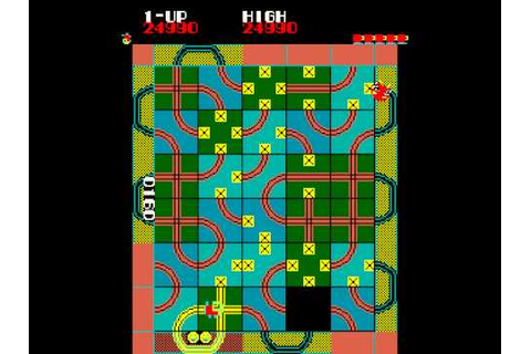 Arcade Game: Loco-Motion (1982 Konami (Centuri license ...
