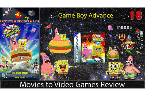 Movies to Video Games Review -- The Spongebob Squarepants ...