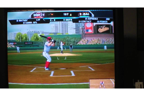 Major League Baseball 2K11 Wii Review: Part 1 - YouTube