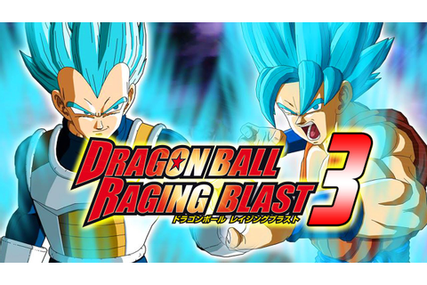 Dragon Ball Z Raging Blast 3 Project - YouTube