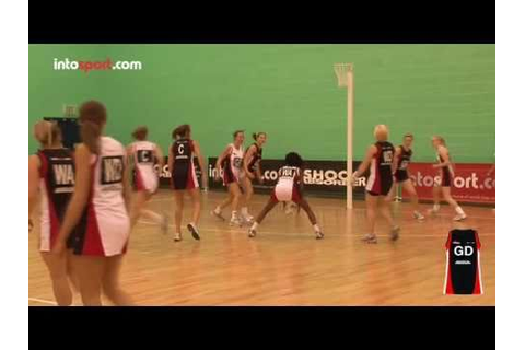 Netball Game: Goal Defence Position Guide - YouTube