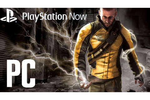 Infamous PC Gameplay Full HD [PlayStation Now] - YouTube