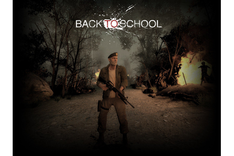 Left 4 Dead 2, Back To School, Game Mod, Weapon, Rifles ...