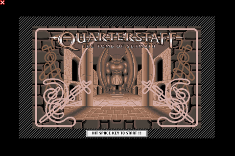 Quarterstaff: The Tomb of Setmoth (1991) X68000 game
