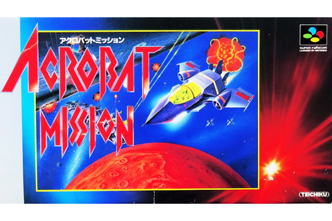 Acrobat Mission アクロバットミッション . SUPER FAMICOM [HD] - YouTube