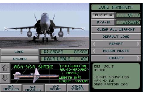 Falcon 3.0: Hornet: Naval Strike Fighter download PC