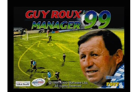 "[Ps1] Introduction du jeu ""Guy Roux Manager '99"" de l ..."