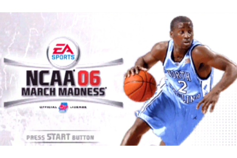 NCAA March Madness 06 ... (PS2) - YouTube