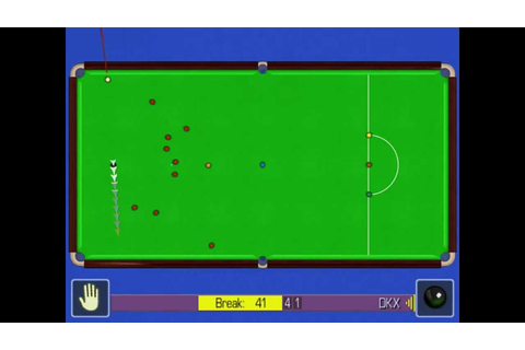 World Snooker Championship 2005 Maximum Break 147 (WSC ...