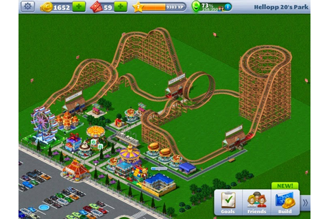 Android Gamify: Roller Coaster Tycoon 4 Mobile is available!