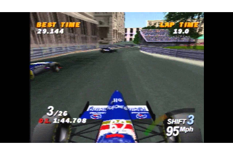 Formula One - 1996 - PS1 - YouTube