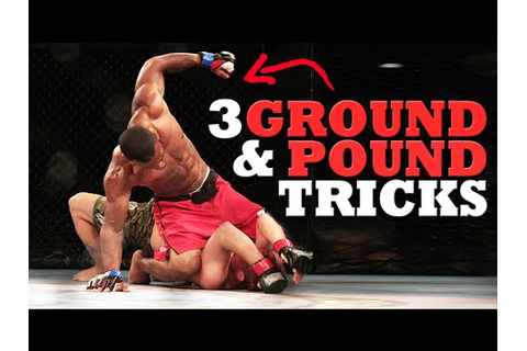 3 Dirty (But Legal) Ground & Pound Tricks for MMA - YouTube