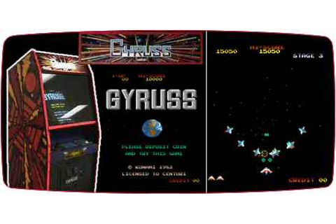 Gyruss: Old Memories