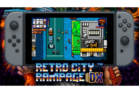 Retro City Rampage DX llegará a Nintendo Switch muy pronto ...