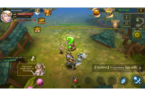 Dawn of the Immortals MMO – Games for Android 2018 – Free ...