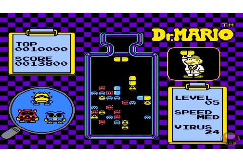 Dr. Mario (NES): Gameplay - HD - YouTube