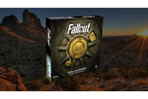 New Fallout: The Board Game Expansion - New California ...