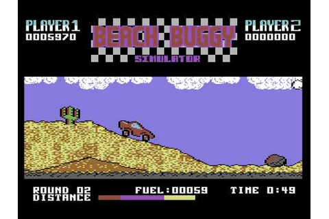 C64 Game - Beach Buggy Simulator - YouTube