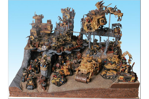 40k - Armies on Parade - Orks | Warhammer 40k Conversions ...
