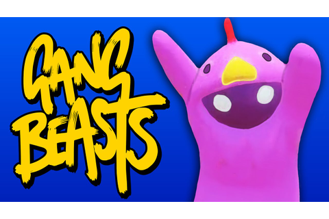FUNNIEST GAME EVER! | Gang Beasts Funny Moments (ft. H2O ...