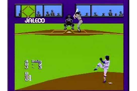 ITM Classic Game NES Bases Loaded - Part One - YouTube