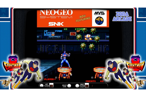 EightMan 1991 Neo Geo SNK Reco y review Zona Arcade] - Taringa!