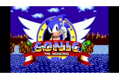 Sonic The Hedgehog Games (Sega Genesis) James & Mike ...