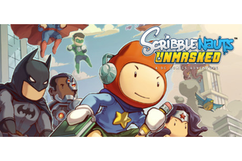Scribblenauts Unmasked: A DC Comics Adventure on Steam