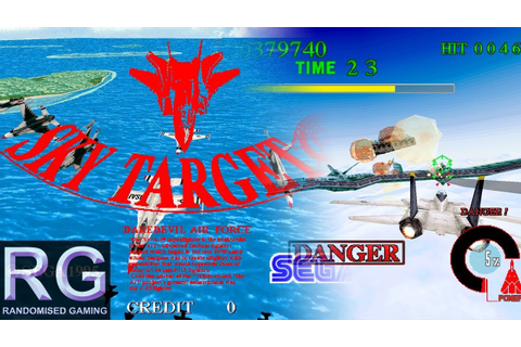 Sky Target - Arcade Model 2 - Intro with full longplay and ...