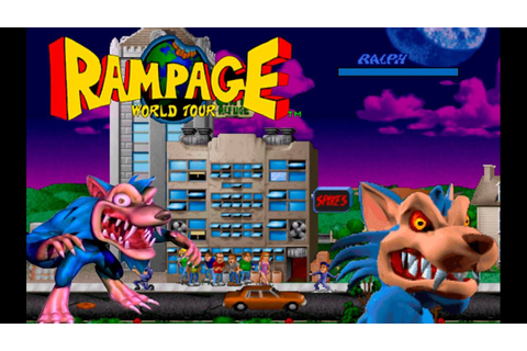 Rampage world tour ( Alberto Blaze ) Walkthrough Ralph The ...