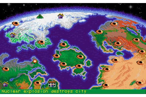 Download Nuclear war strategy for DOS (1989) - Abandonware DOS