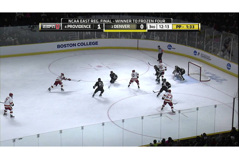 NCAA Men's Ice Hockey PC Friars Vs. Denver Game Highlights ...