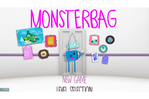 MonsterBag for Sony PS Vita - The Video Games Museum