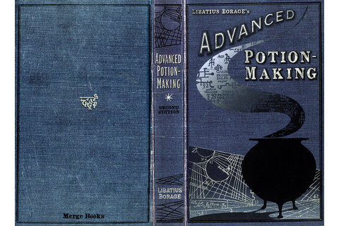 Advance Potion Making - Potions Text Book | Hi, here is ...