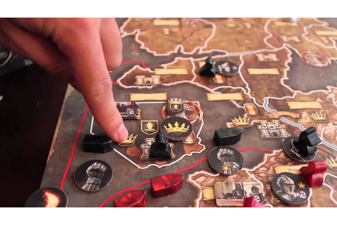 Game of Thrones: The Board Game Tutorial in 3 minutes ...