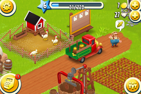 Hay Day brings gesture based farming to the palm of your hand