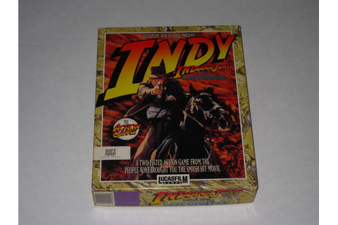 Indiana Jones and the Last Crusade: The Action Game (Amiga ...